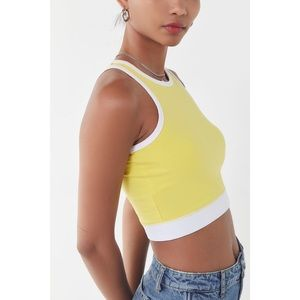 UO Truly Madly Deeply sleeveless crop top - Small